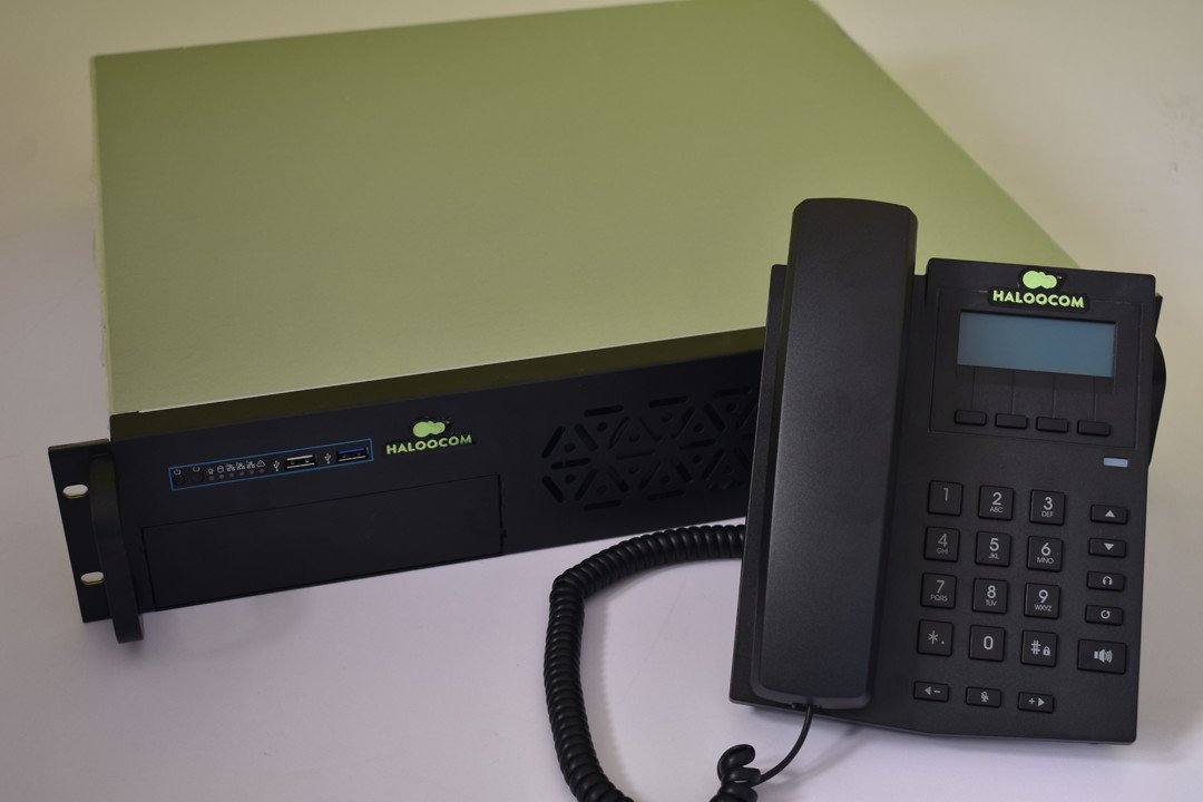 IP PBX and IP Phone Product Photo