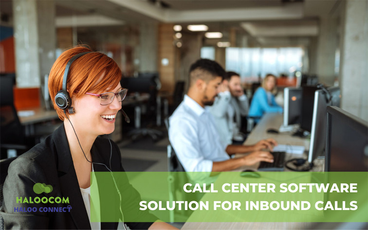 Contact center software for inbound calls