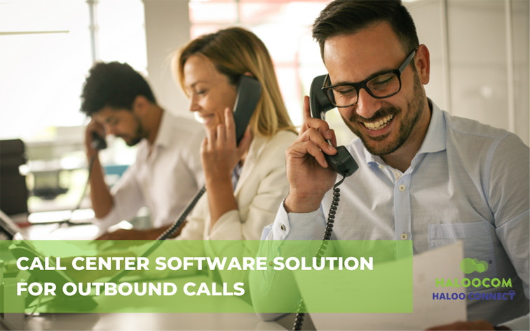 Contact center software for outbound calls