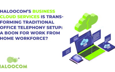 Haloocom's Business Cloud Services is Transforming Traditional Office Telephony setup : A Boon for Work From Home Workforce