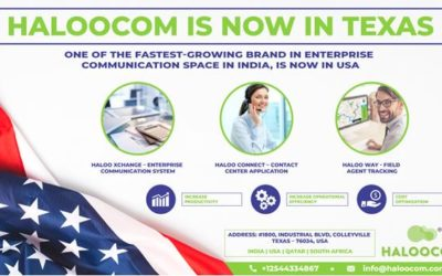 Haloocom, One of the Fastest-Growing Brand in Enterprise Communication Space in India, is now in USA