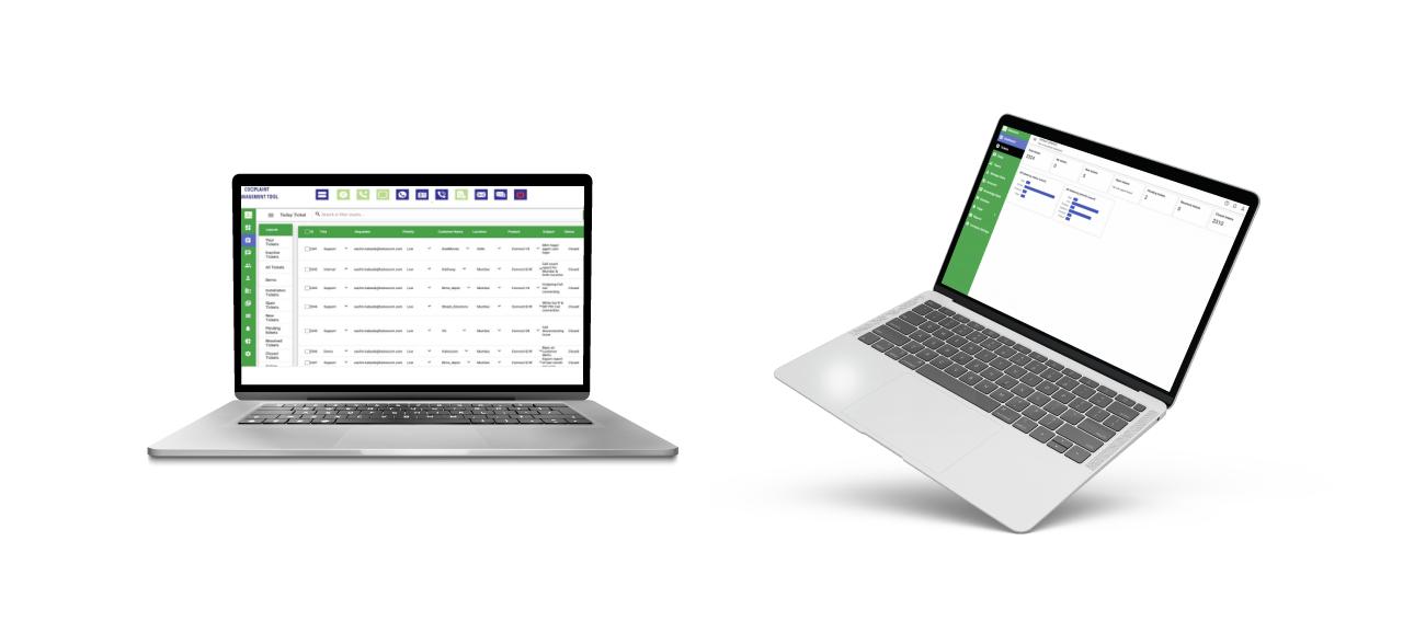 Complaint Management Solution User Interface